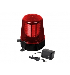 LED Police light rød