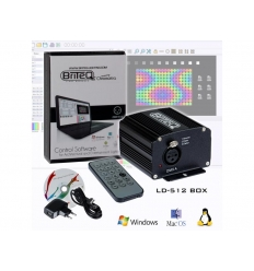 Briteq LD-512 Box - DMX software til PC - DMX Interface